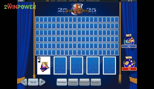 25 lines aces and faces videopoker ot pleytek 15845447518698 image