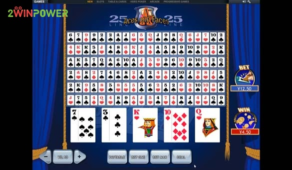 25 lines aces and faces videopoker ot pleytek 15845447522774 image