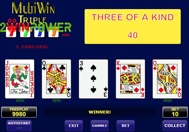 amatic multi card win triple 15101463093498 image