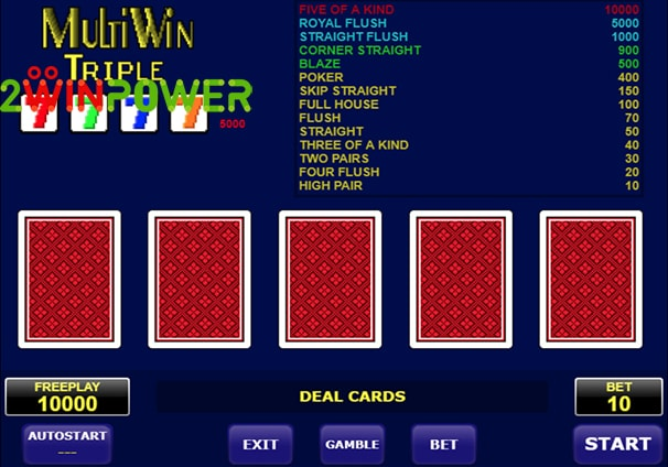 amatic multi card win triple 15101463096607 image