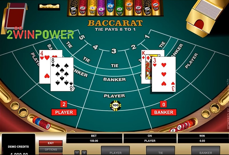 bakkara high limit baccarat 15461694697304 image