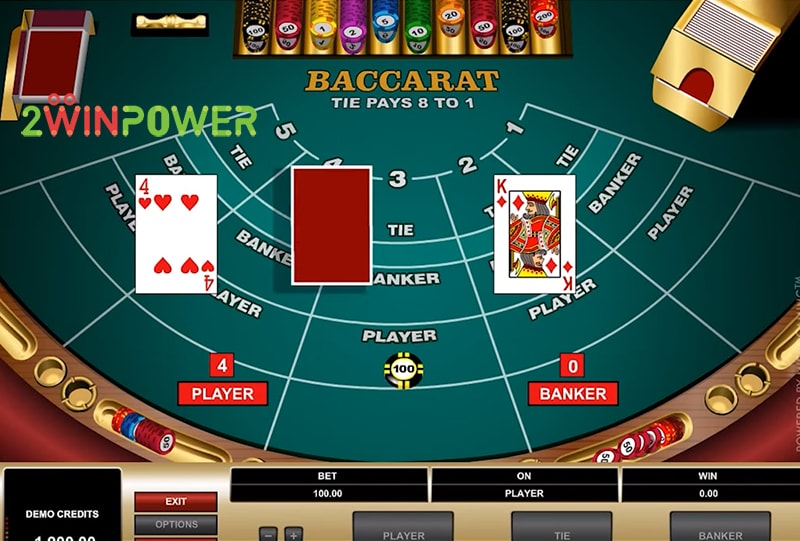 bakkara high limit baccarat 15461694699048 image