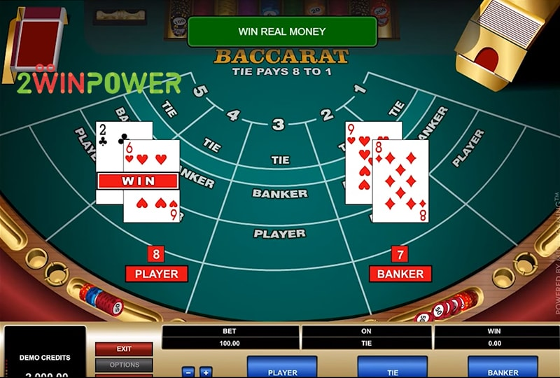 bakkara high limit baccarat 15461694700889 image