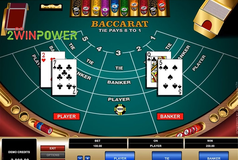 bakkara high limit baccarat 15461694702848 image