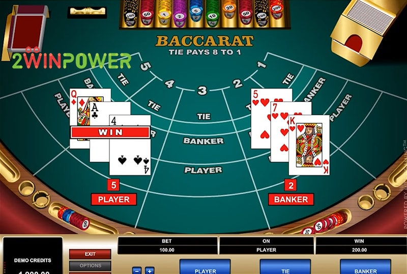 bakkara high limit baccarat 15461694705168 image