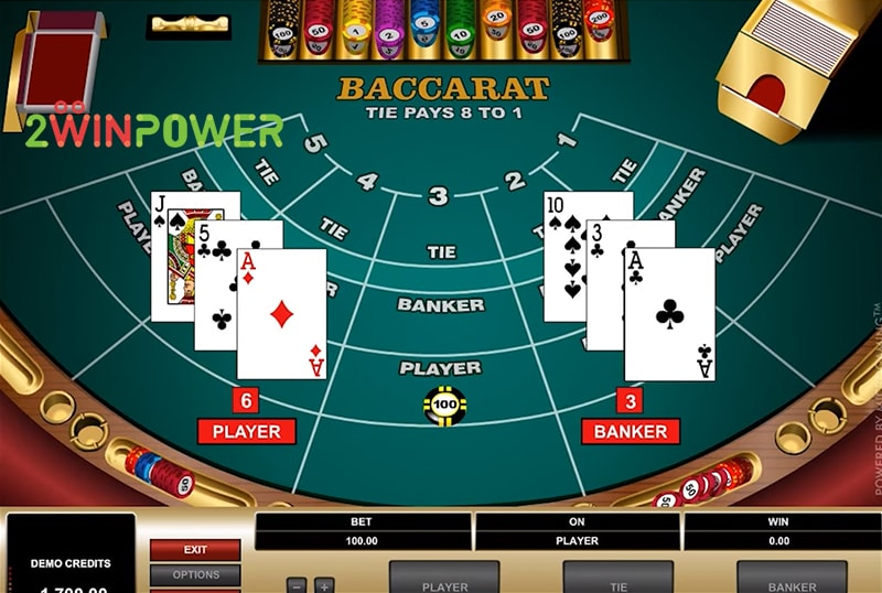 bakkara high limit baccarat 15461694712172 image