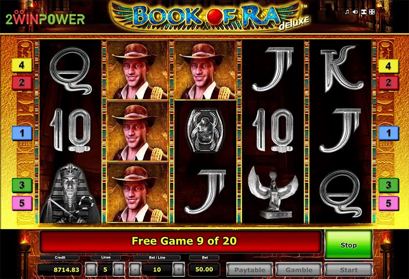 book of ra deluxe slot game by greentube 15299114428977 image