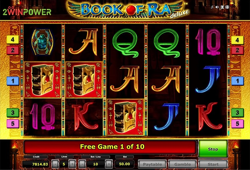 book of ra deluxe slot game by greentube 15299114432115 image