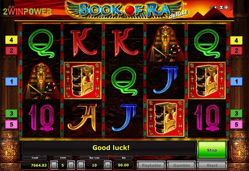 book of ra deluxe slot game by greentube 15299114435276 image