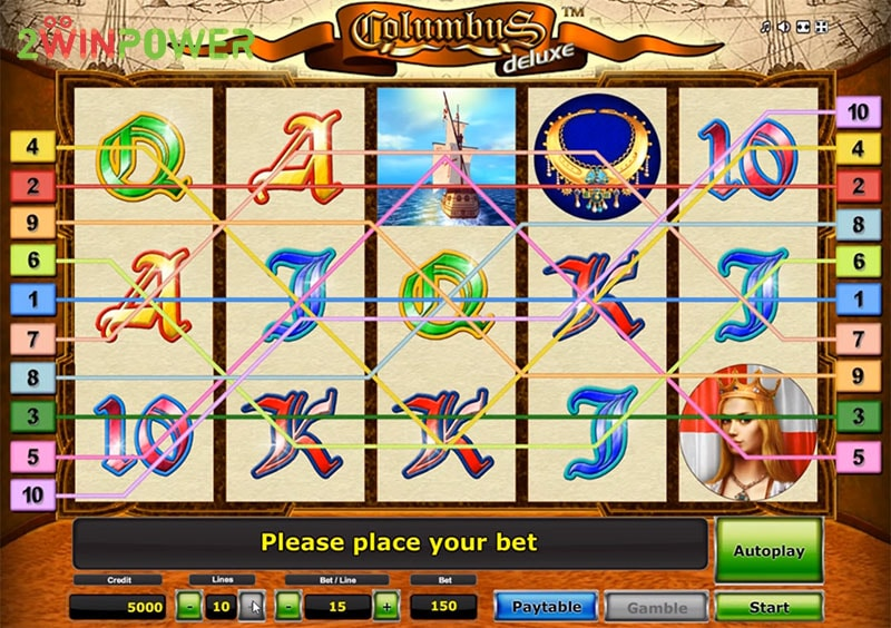 columbus deluxe slot machine by greentube 15299085044219 image