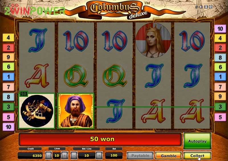 columbus deluxe slot machine by greentube 15299085053479 image