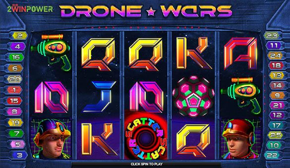 drone wars slot machine by microgaming 15652756309437 image
