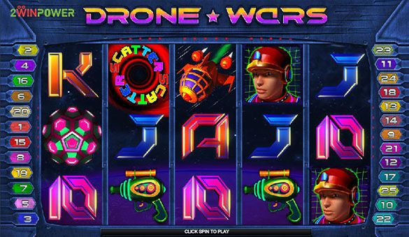 drone wars slot machine by microgaming 15652756365152 image