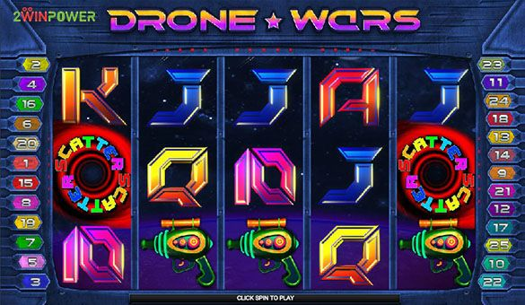 drone wars slot machine by microgaming 15652756386692 image