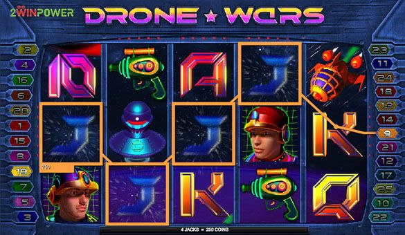 drone wars slot machine by microgaming 15652756438152 image