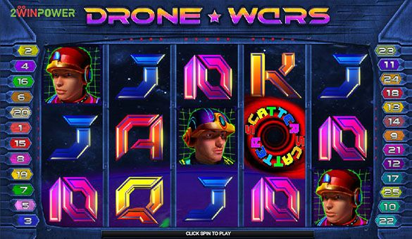 drone wars slot machine by microgaming 15652756469285 image