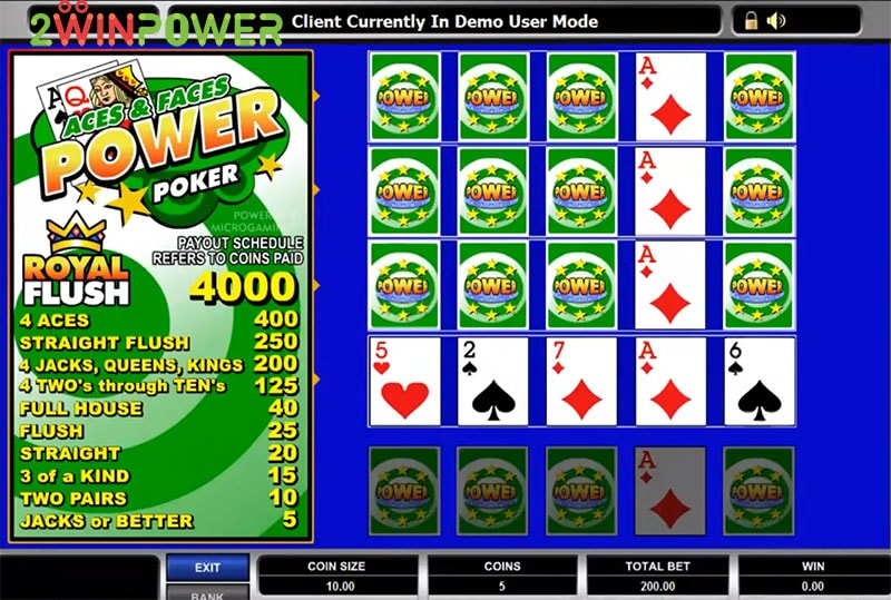igra aces and faces power poker 15455083137812 image