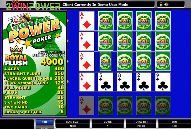 igra aces and faces power poker 1545508314152 image