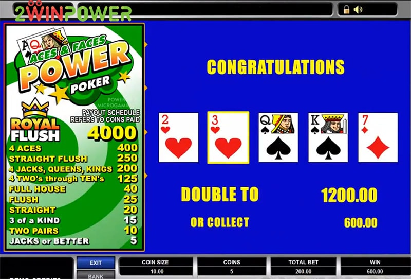 igra aces and faces power poker 15455083144855 image