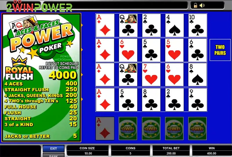 igra aces and faces power poker 15455083146618 image