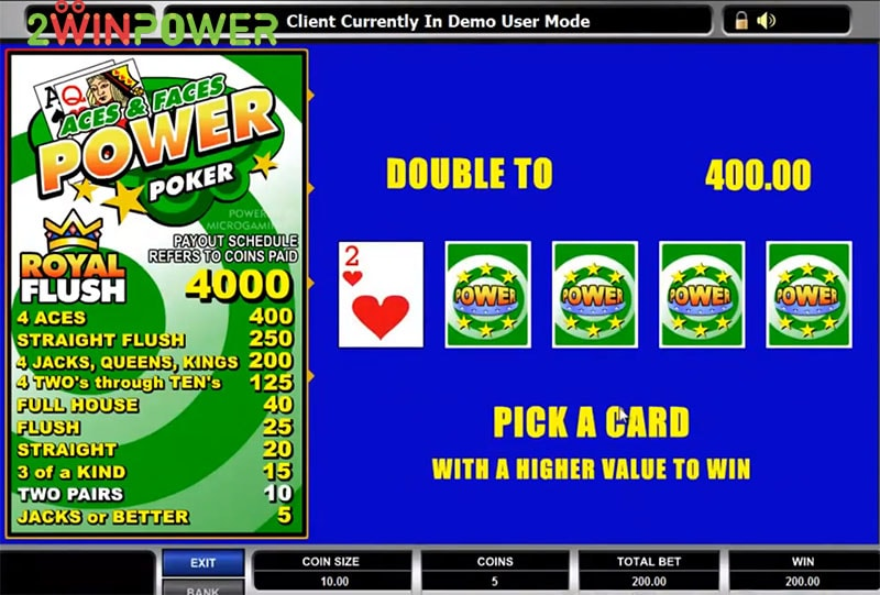 igra aces and faces power poker 15455083148279 image