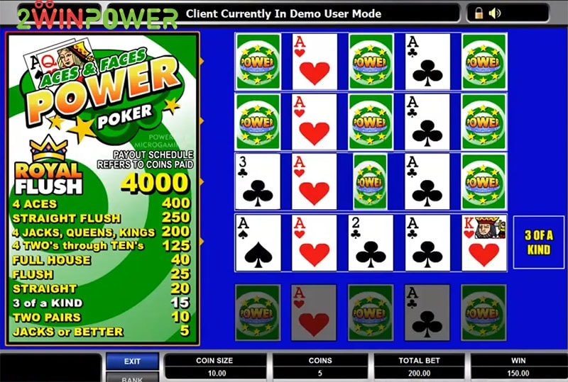 igra aces and faces power poker 15455083152859 image