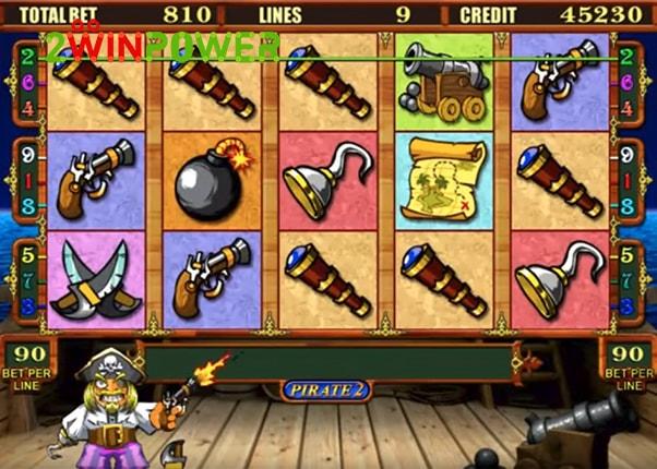 Игровой автомат pirate 2 igrosoft