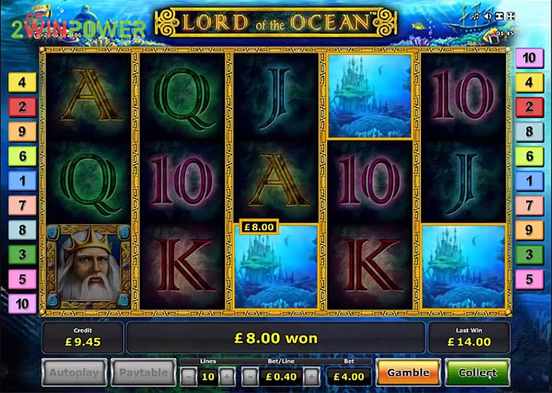 lord of the ocean html5 slot by greentube 15306008633455 image