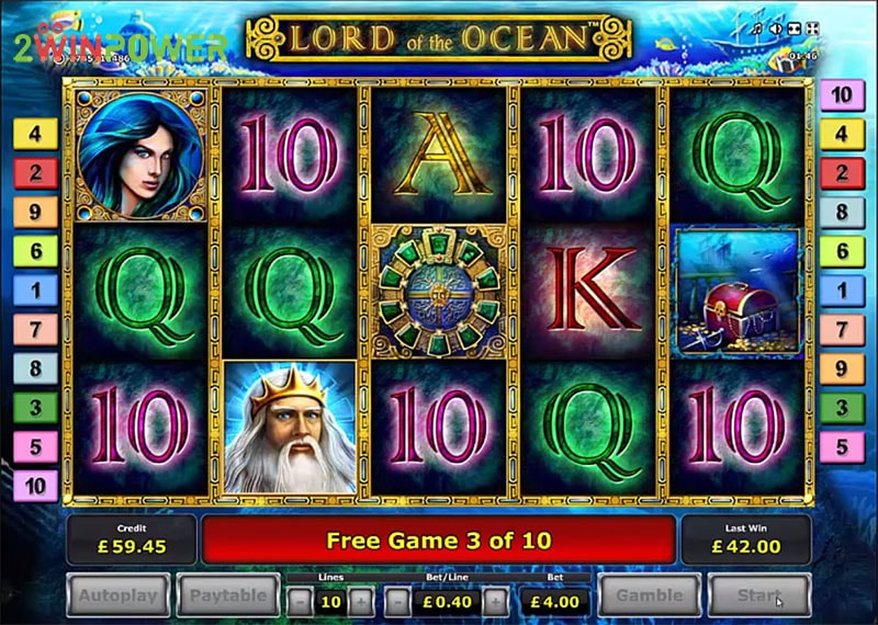lord of the ocean html5 slot by greentube 15306008635217 image