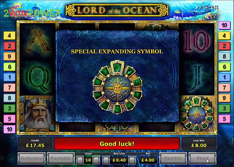 lord of the ocean html5 slot by greentube 1530600863709 image