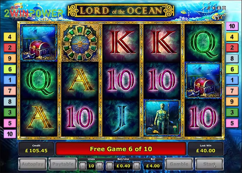 Lord of the Ocean Game by Greentube: Buy or Rent | 2WinPower
