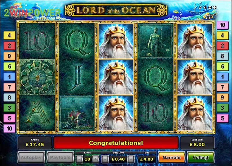 lord of the ocean html5 slot by greentube 15306008640654 image