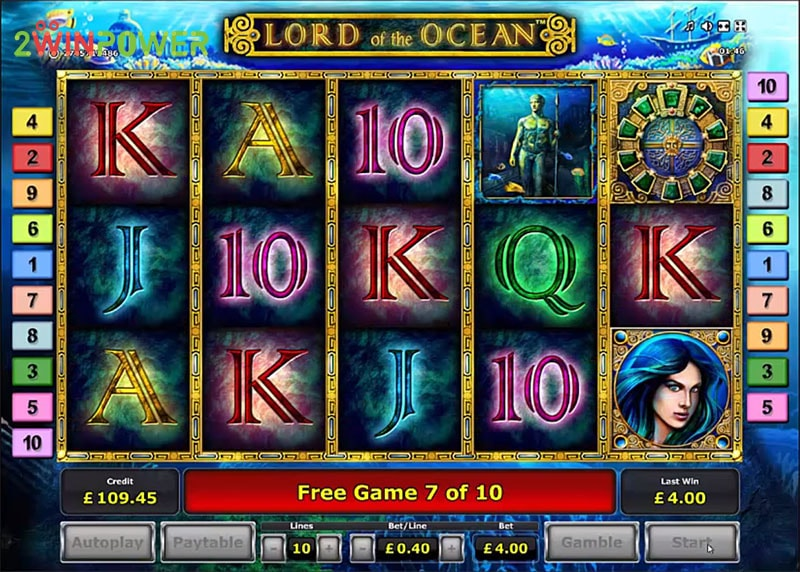 lord of the ocean html5 slot by greentube 15306008642322 image
