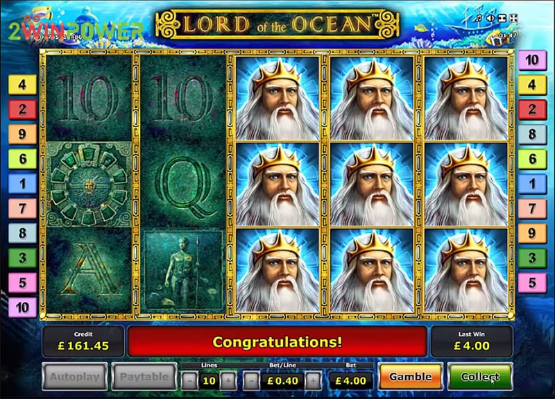 lord of the ocean html5 slot by greentube 15306008645585 image