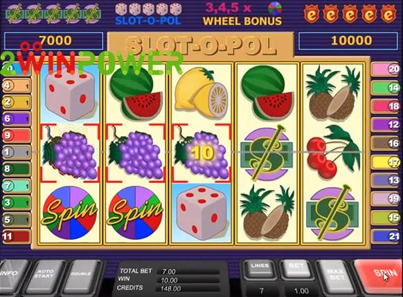 Знаменитый игровой автомат Slot-O-Pol Deluxe от бренда Mega Jack.Игровой автомат Slot-O-Pol Deluxe — один из самых востребованных и популярных аппаратов прошлого.