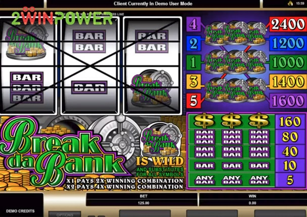 microgaming break da bank 15070150095273 image