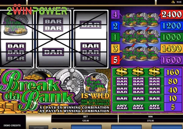 microgaming break da bank 15070150103632 image