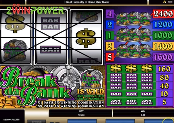 microgaming break da bank 15070150107823 image