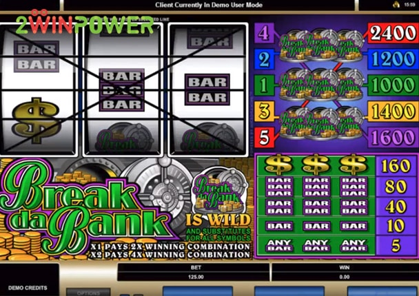microgaming break da bank 15070150111987 image