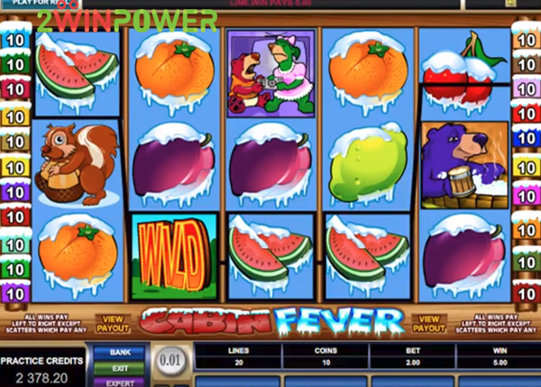 microgaming cabin fever 15066064846619 image