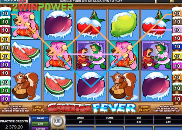 microgaming cabin fever 1506606485087 image