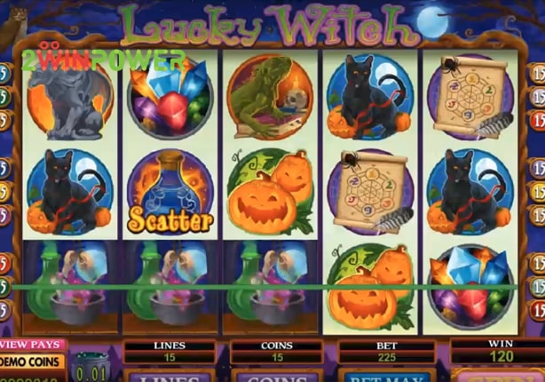 microgaming lucky witch 15073024318065 image
