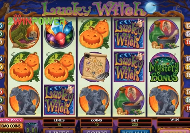 microgaming lucky witch 15073024330968 image