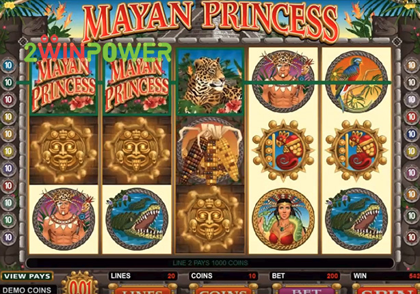 microgaming mayan princess 15078180917156 image
