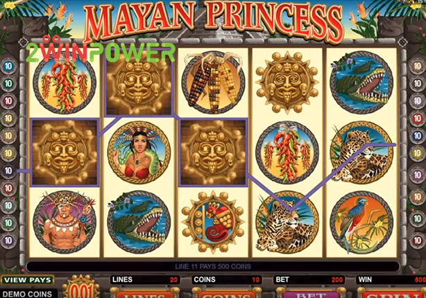 microgaming mayan princess 15078180918863 image