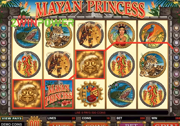microgaming mayan princess 15078180920487 image