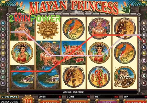 microgaming mayan princess 15078180923736 image