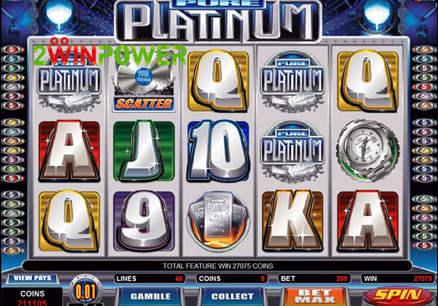 microgaming pure platinum 15082527549907 image