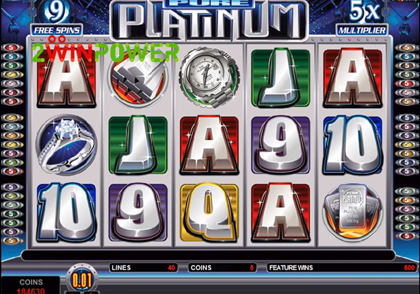 microgaming pure platinum 15082527564215 image