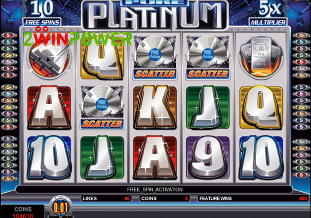 microgaming pure platinum 15082527565802 image